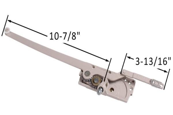 """3-13/16"""" Clip Arm Length"""