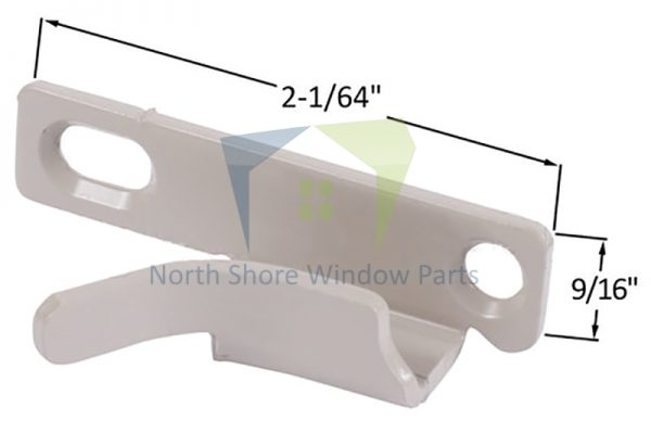 Casement Sash Lock Keeper (New Style) (Truth Hardware 41269) (Left) 1
