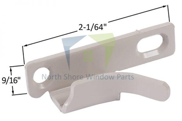 Casement Sash Lock Keeper (New Style) (Truth Hardware 41269) (Right) 1